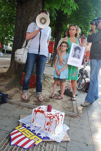 Een jaar dictatuur en verzet in Honduras: solidariteitsactie in Brussel