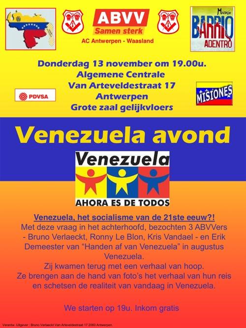 Venezuela-avond