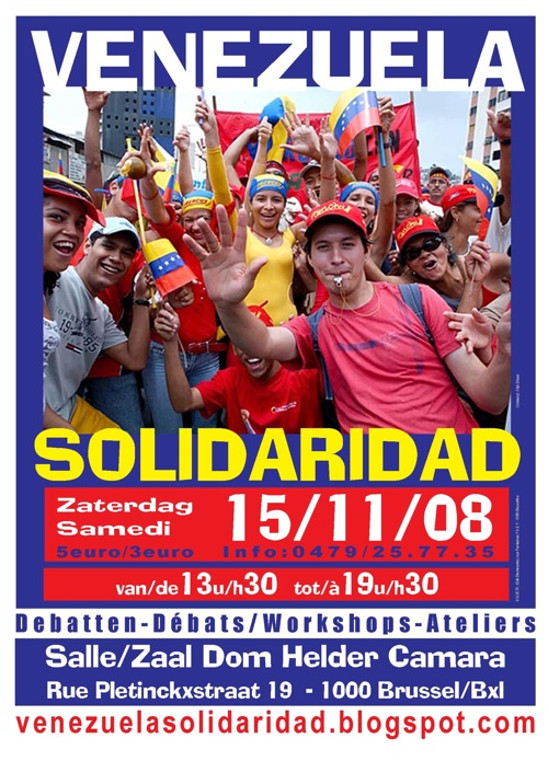 Tweede Nationale Solidariteitsdag met Venezuela